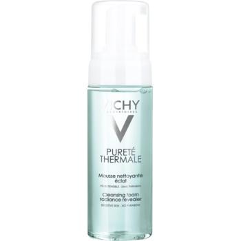Vichy Pureté Thermale spuma de curatat pentru o piele mai luminoasa
