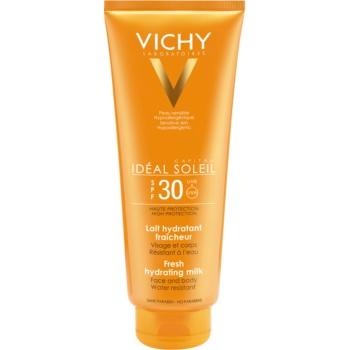 Vichy Idéal Soleil Capital lapte de protectie pentru fata si corp SPF 30