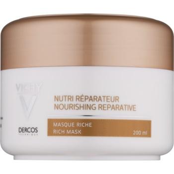 Vichy Dercos Nutri Reparateur vyživující maska pro suché a poškozené vlasy 200 ml