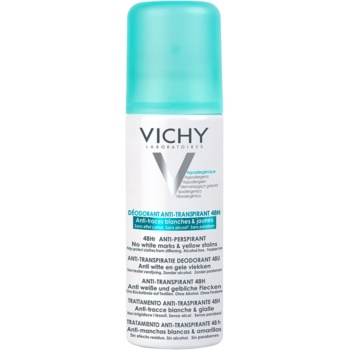 Vichy Deodorant deodorant spray antiperspirant impotriva petelor albe si galbene