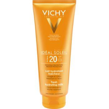 Vichy Idéal Soleil loțiune hidratantă de protecție pentru față și corp SPF 20  300 ml