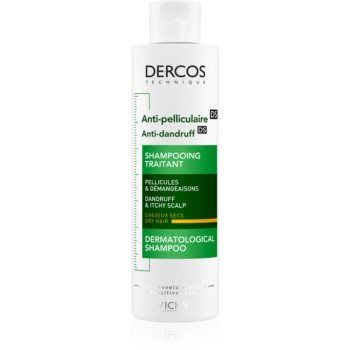Vichy Dercos Anti-Dandruff šampon proti lupům pro suché vlasy 200 ml