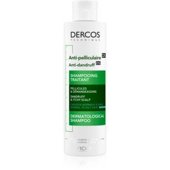 Vichy Dercos Anti-Dandruff šampon proti lupům pro normální až mastné vlasy 200 ml