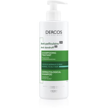 Vichy Dercos Anti-Dandruff sampon anti-matreata pentru par normal spre gras