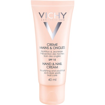 Vichy Hand & Nail crema hranitoare pentru maini si unghii impotriva petelor intunecate
