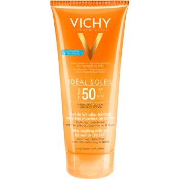 Vichy Idéal Soleil Lotiune gel pentru piele uscata SPF 50