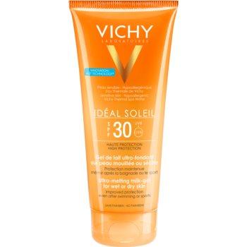 Vichy Idéal Soleil Lotiune gel pentru piele uscata SPF 30