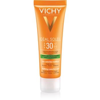 Fotografie Vichy Idéal Soleil Capital matující opalovací krém na obličej pro smíšenou a mastnou pleť 50 ml