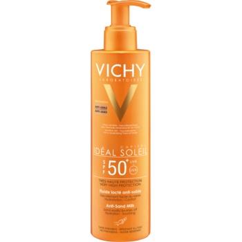 Vichy Idéal Soleil Capital loțiune solară cu tehnologia anti-nisip SPF 50+