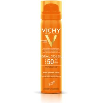 Vichy Idéal Soleil spray facial revigorant cu protecție solară SPF 50