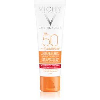 Vichy Idéal Soleil Anti-age crema protectoare impotriva imbatranirii pielii SPF 50  50 ml