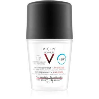 vichy homme deodorant deodorant roll-on împotriva petelor albe și galbene 48 de ore