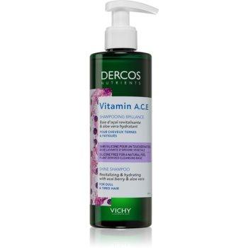 Vichy Dercos Vitamin A.C.E șampon revitalizant pentru strălucirea părului slab
