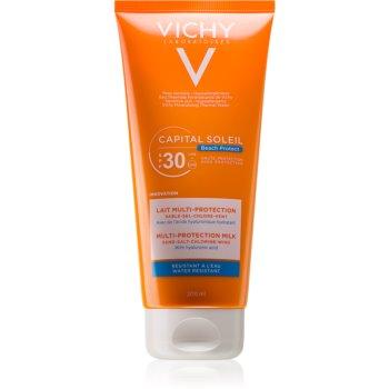 Vichy Capital Soleil Beach Protect lapte multi protector hidratant SPF 30