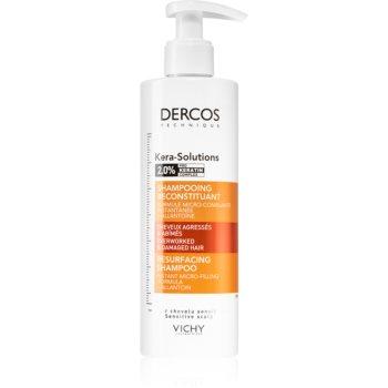 Vichy Dercos Kera-Solutions șampon regenerator pentru păr uscat și deteriorat