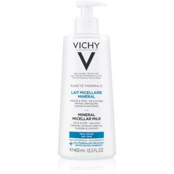 Vichy Pureté Thermale lapte micelar mineral pentru tenul uscat