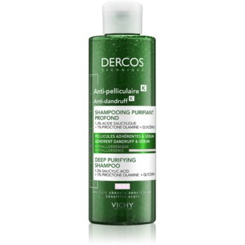 Vichy Dercos Anti-Dandruff sampon anti-matreata cu efect exfoliant