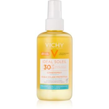 vichy idéal soleil spray protector cu acid hialuronic spf30