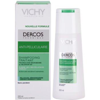 Vichy Dercos Anti-Dandruff шампоан против пърхот за нормална към омазняваща се коса 1
