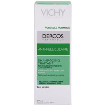 Vichy Dercos Anti-Dandruff шампоан против пърхот за нормална към омазняваща се коса 2
