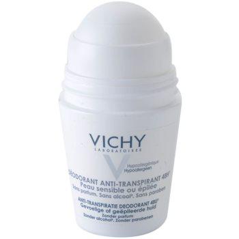 Vichy Deodorant Deodorant roll-on pentru piele sensibila si iritata 1