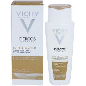 Vichy Dercos Nutri Reparateur sampon hranitor pentru par uscat si deteriorat 1