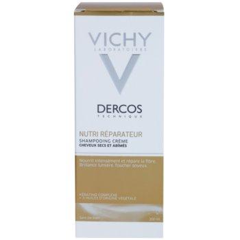 Vichy Dercos Nutri Reparateur sampon hranitor pentru par uscat si deteriorat 2