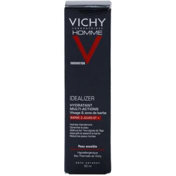 Vichy Homme Idealizer хидратиращ крем  за зоната на лицето и брадата 3