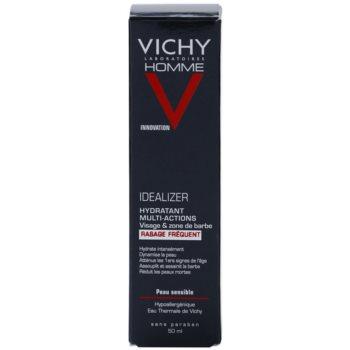 Vichy Homme Idealizer feuchtigkeitsspendende Gesichtscreme nach der Rasur 3