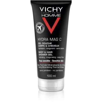Vichy Homme Hydra-Mag C sprchový gel na tělo a vlasy 100 ml