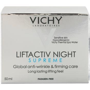 Vichy Liftactiv Supreme Festigende Nachtcreme gegen Falten mit Lifting-Effekt 3