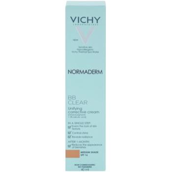 Vichy Normaderm BB Clear crema BB pentru ten gras si problematic 3