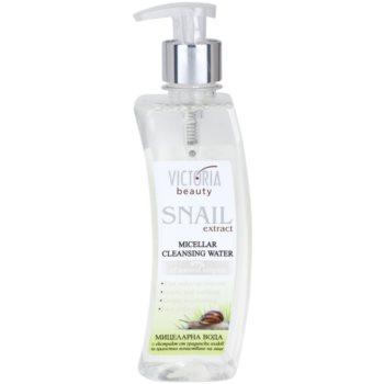 Victoria Beauty Snail Extract очищаюча міцелярна вода з екстрактом равлика