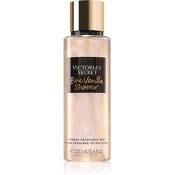 Victoria's Secret Bare Vanilla Shimmer spray de corp parfumat cu particule stralucitoare pentru femei
