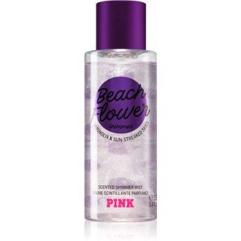 Victoria's Secret PINK Beach Flower Shimmer spray de corp parfumat pentru femei