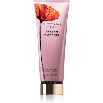 Victoria's Secret Wild Blooms Spring Poppies lapte de corp pentru femei imagine