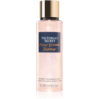 Victoria's Secret Amber Romance Shimmer spray de corp parfumat pentru femei imagine