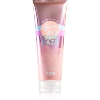 Victoria's Secret PINK Warm & Cozy Sun Dazed lapte de corp pentru femei imagine