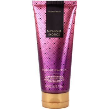 Victoria's Secret Midnight Exotics Forbidden Vanilla Körpercreme für Damen