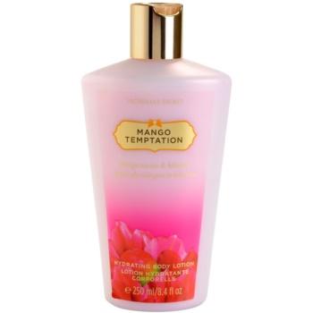 Victorias Secret Mango Temptation Mango Nectar & Hibiscus lapte de corp pentru femei 250 ml