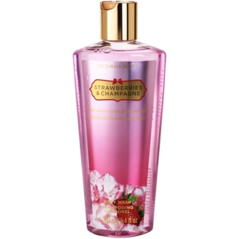 Victorias Secret Strawberry & Champagne gel de dus pentru femei 250 ml