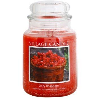 Village Candle Juicy Raspberry dišeča sveča   velika