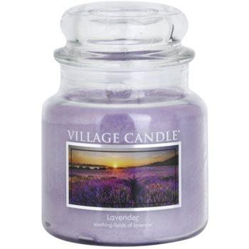 Village Candle Lavender ароматна свещ   среден