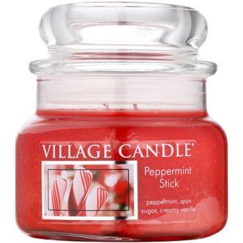Village Candle Peppermint Stick illatos gyertya   kicsi