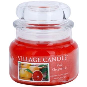 Village Candle Pink Grapefruit vonná svíčka  malá