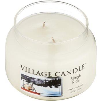 Village Candle Sleigh Ride vela perfumado  pequeno 1