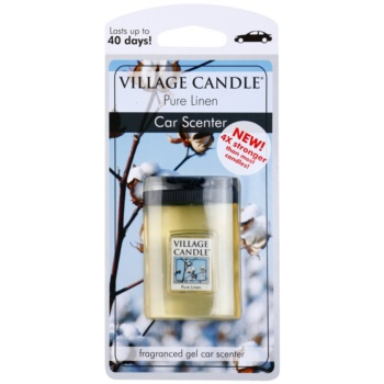 Village Candle Pure Linen Car Air Freshener