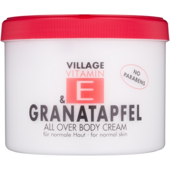 Village Vitamin E Pomegranate crema de corp