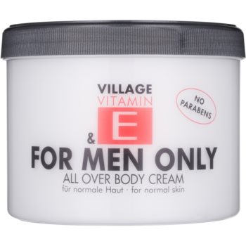 Village Vitamin E For Men Only crema de corp