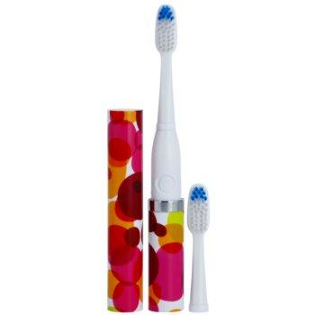 Violife Slim Sonic Bubbles escova de dentes sónica elétrica com cabeça de reposição 1